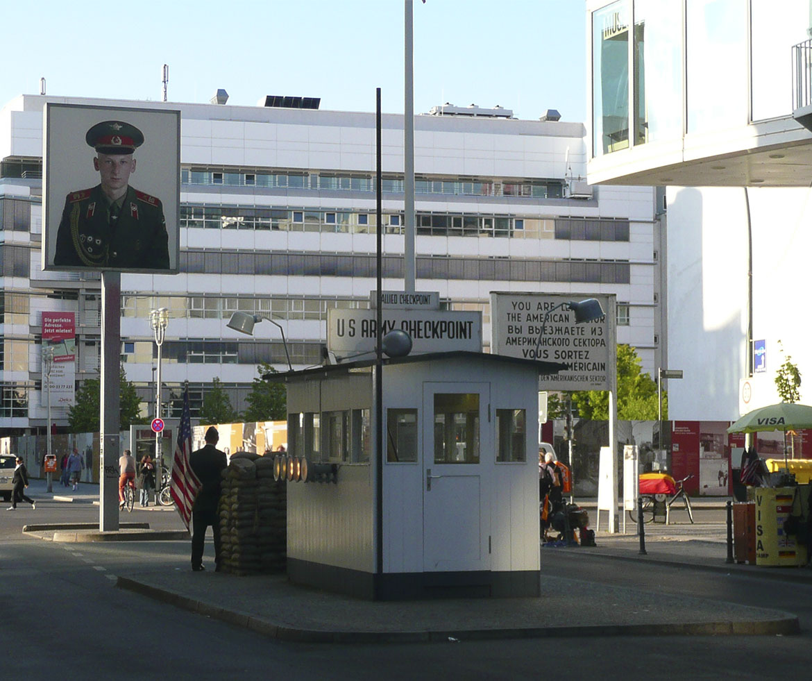 Where is… Checkpoint Charlie?
