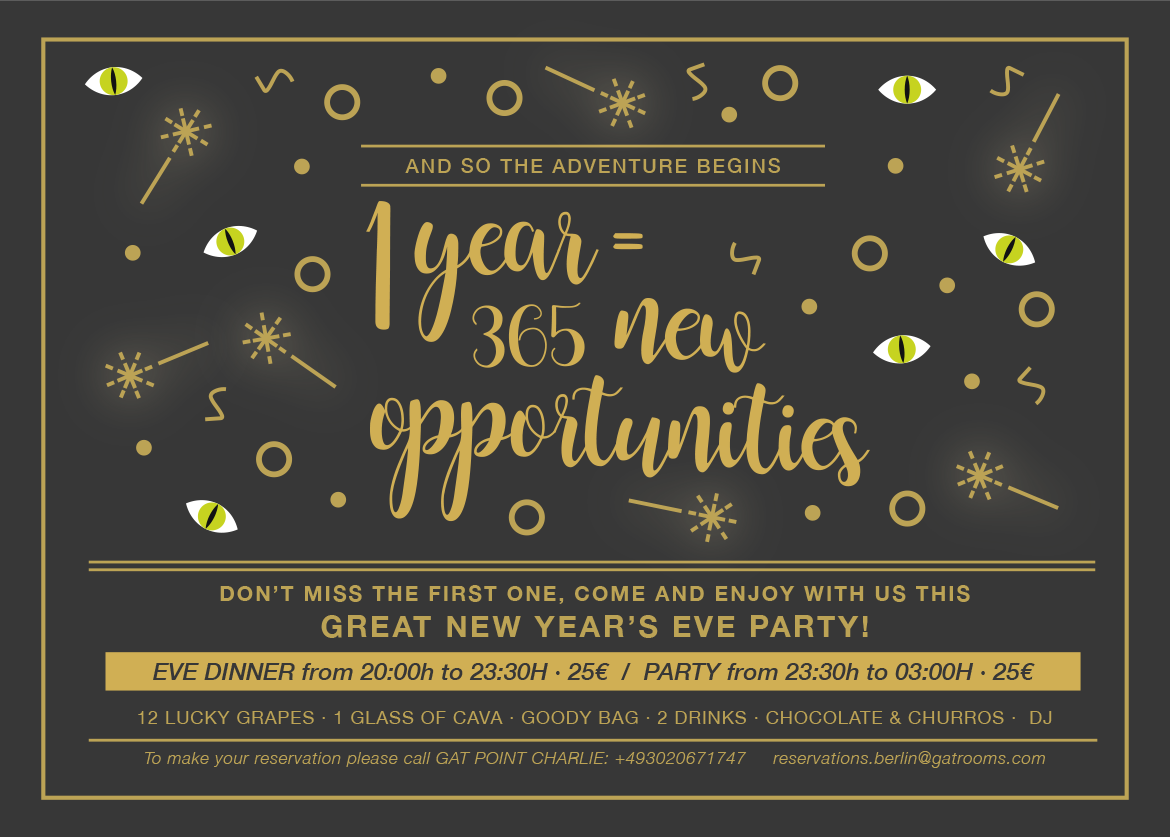 Celebrate New Year In Style With Us!
