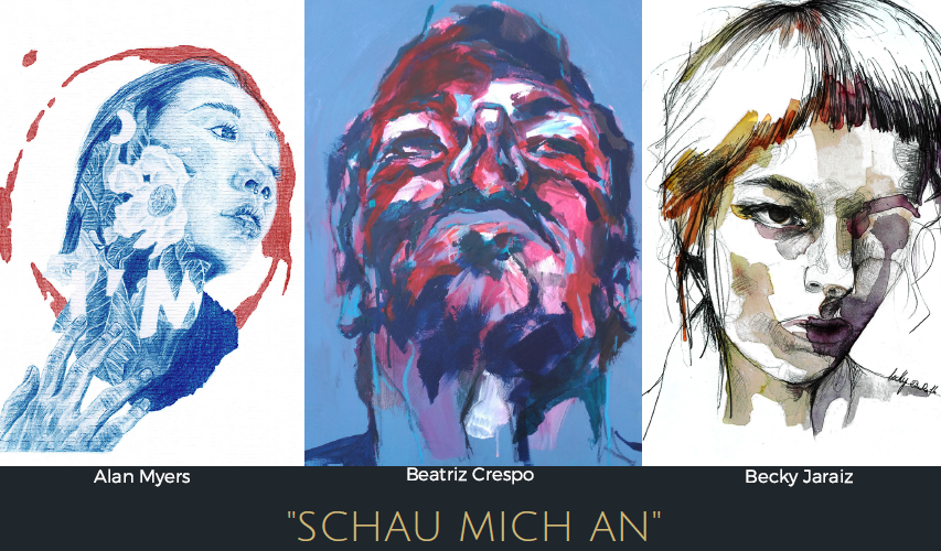"""Schau mich an"" – art exhibition"